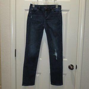 Celebrity Pink Retro Distressed Skinny Jeans